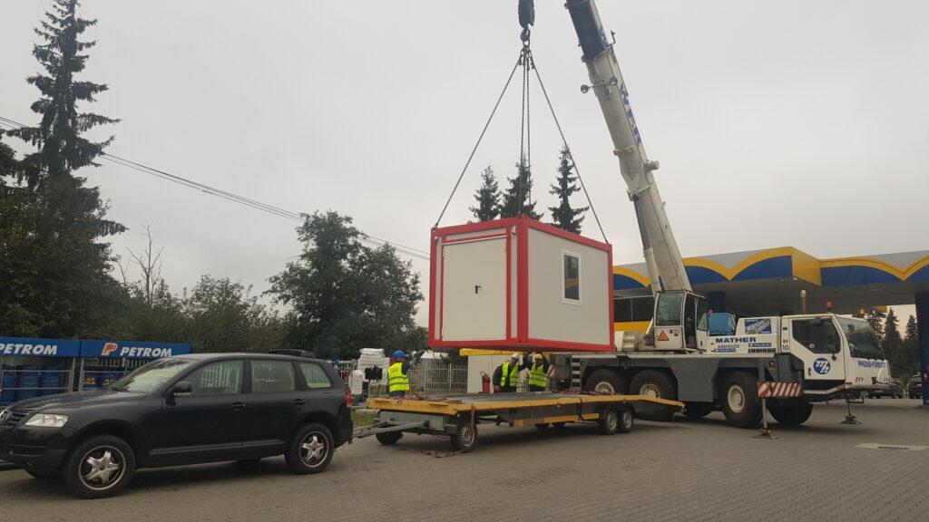 Transport-container-macara