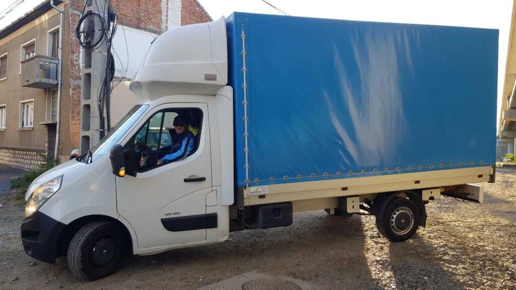 Transport marfa oradea 3.5t